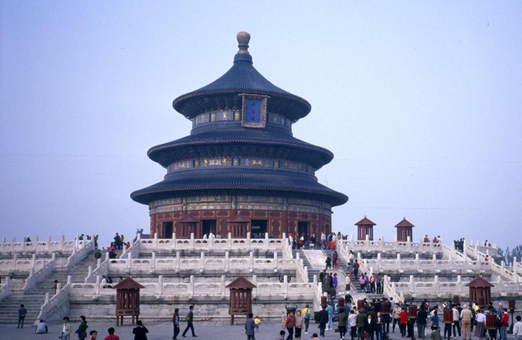 Peking 1991, Himmelstempel