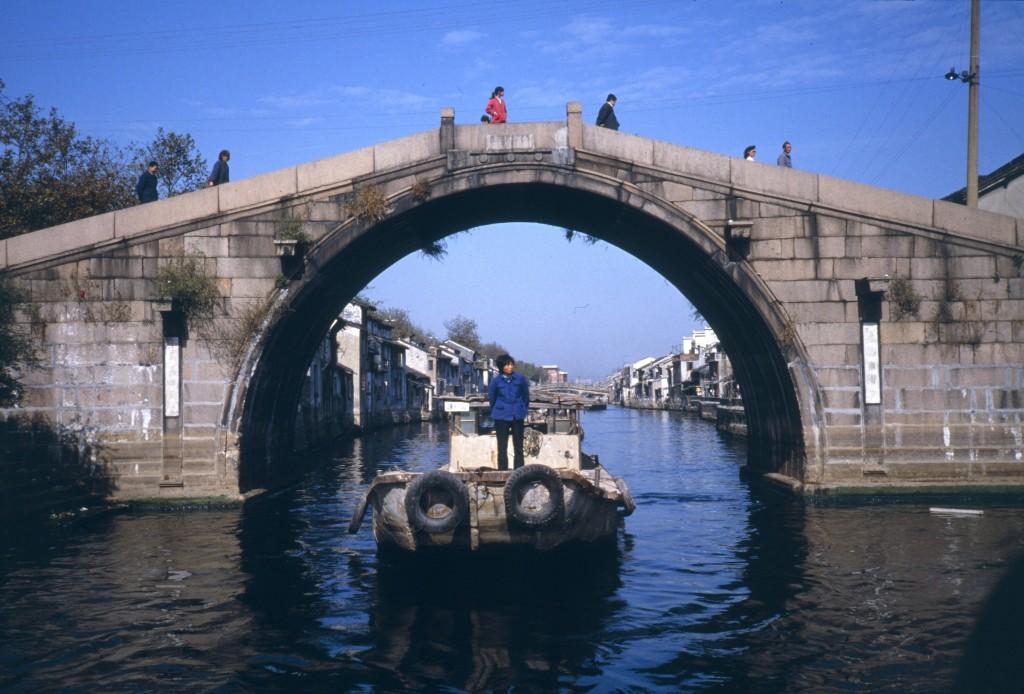 Der Kaiserkanal verband Wuxi mit der Hauptstadt Peking