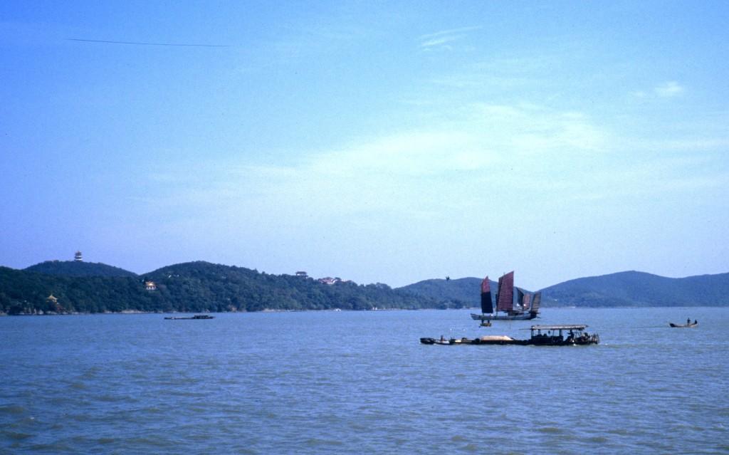Der Taihu-See ist der dritt-größte Binnensee Chinas