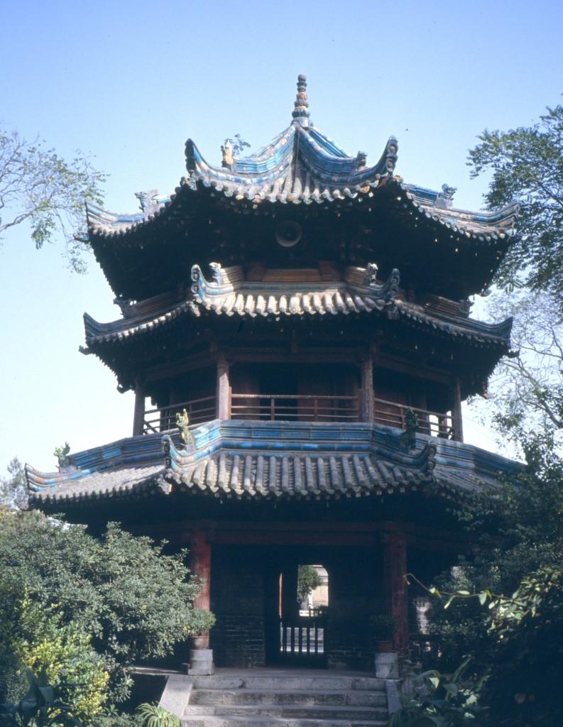 Pavillon im Xihui-Park