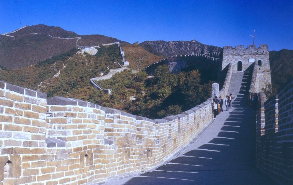 Peking 1991, Große Mauer
