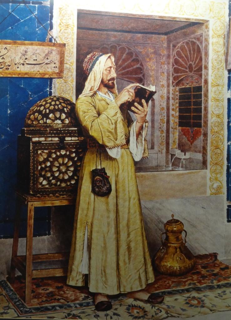 Osman Hamdi Bey, im Fliesen-Pavillion