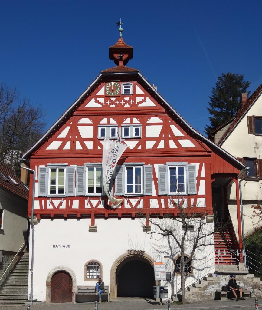 Das Rathaus von Beinstein im Remstal