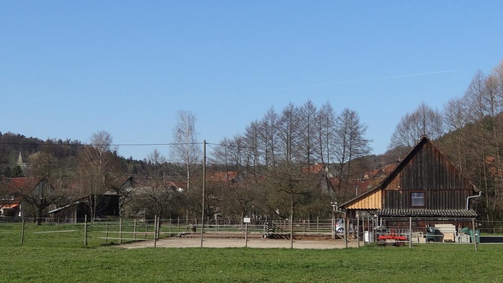 Wieder im Tal, in Schornbach