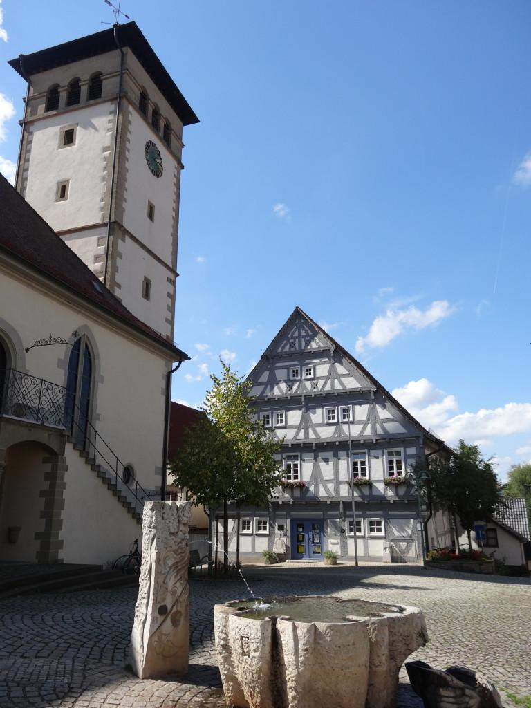 Kirchplatz von Stetten