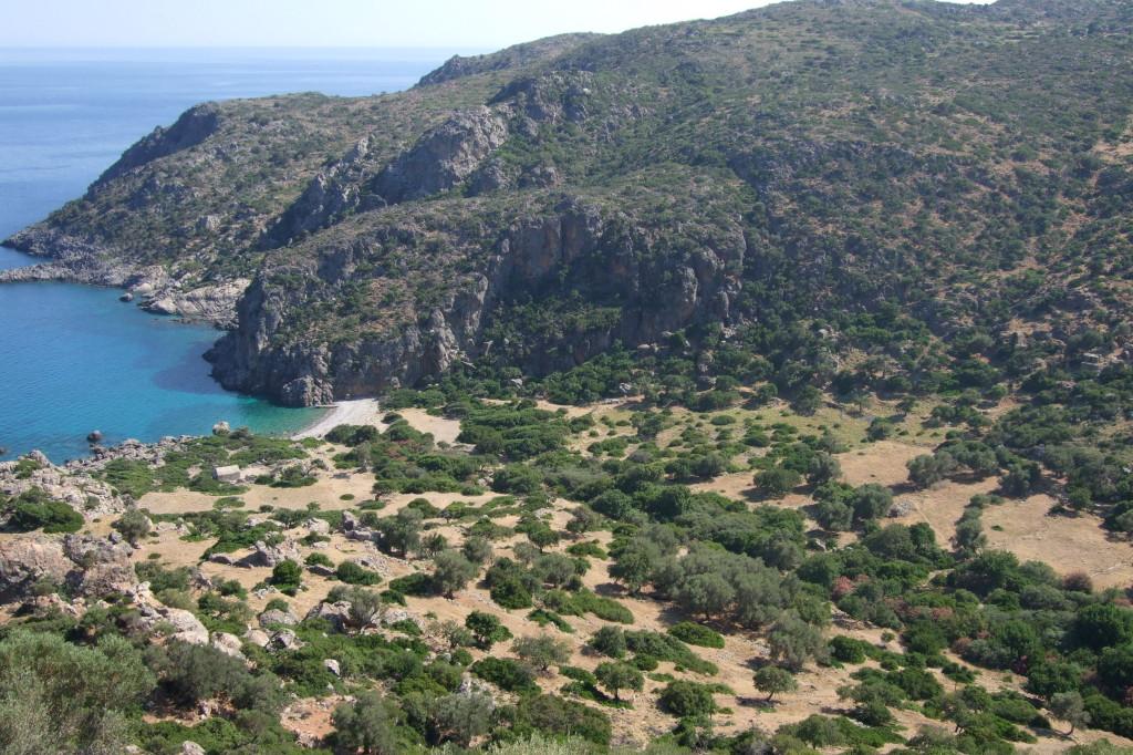 Bucht und Strand von Lissos
