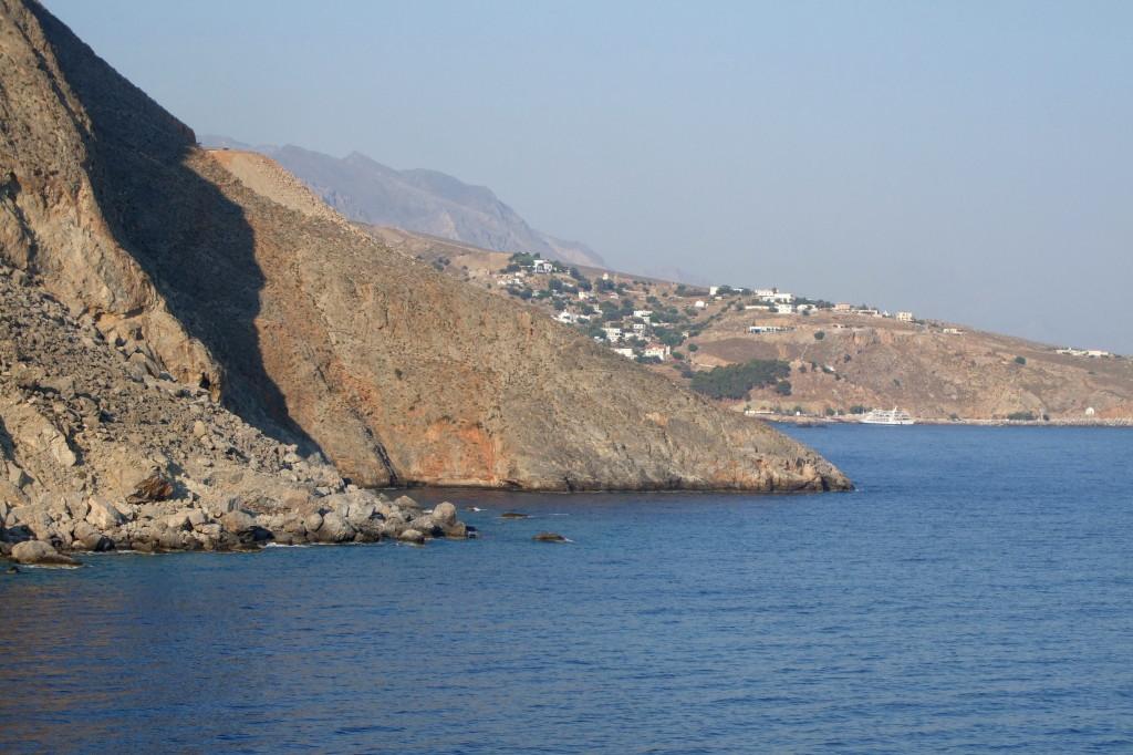 Die Steilküste und Chora Sfakion