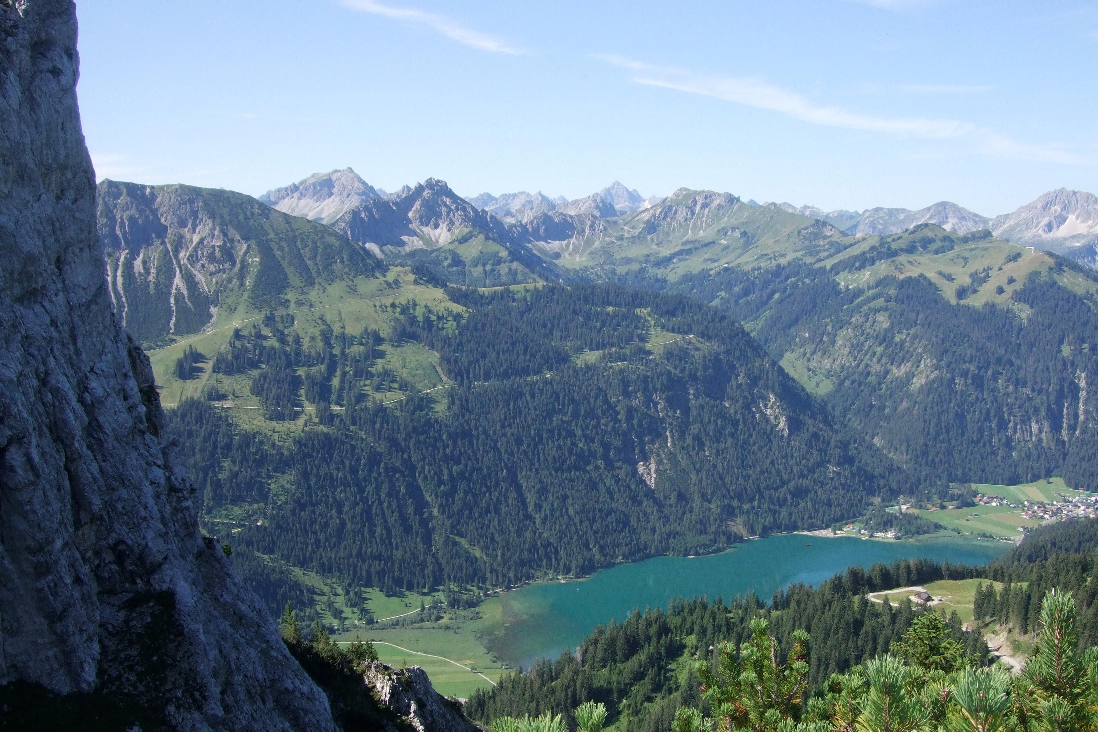 Klettersteig Tannheimer Tal : Klettersteige und wanderungen im tannheimer tal lisa unterwegs