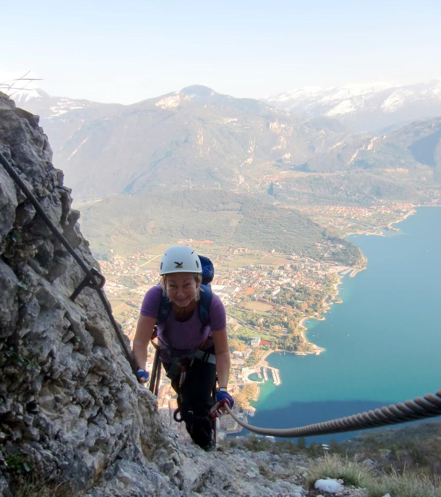 Traumhaft schön zu klettern, und nicht schwierig