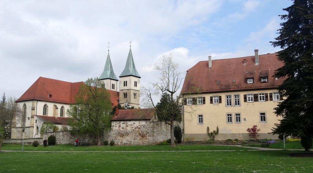 Von Murrhardt sehen wir als erstes die Klosteranlage