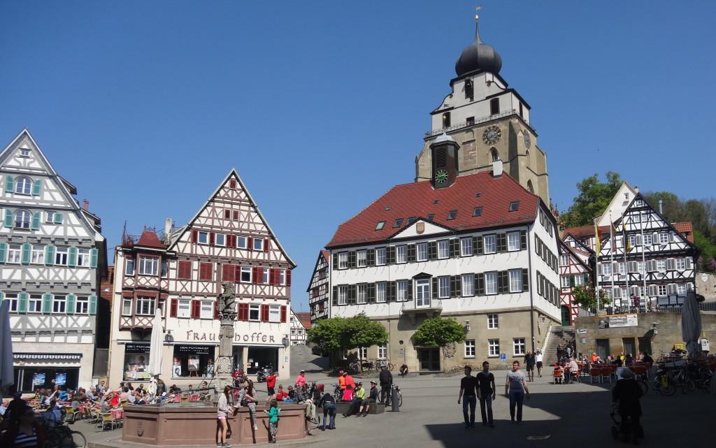 Herrenberg, Marktplatz
