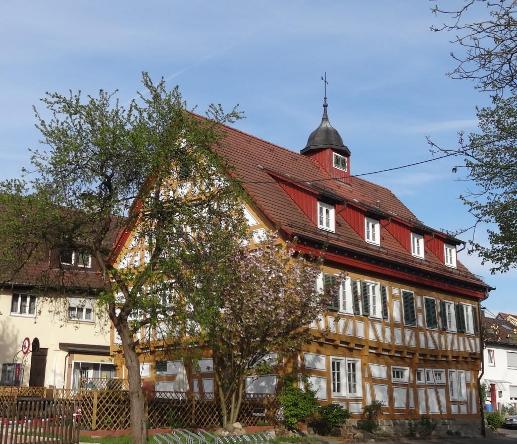 Altes Rathaus Plüderhausen, Biergarten
