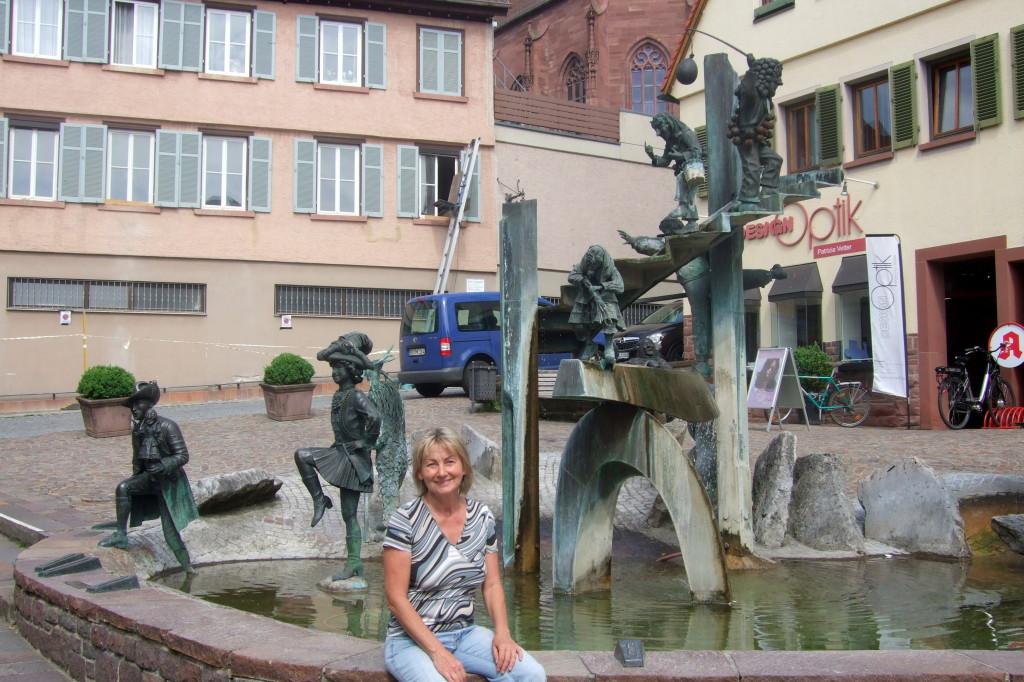 Der Narrenbrunnen, da passe ich doch gut dazu