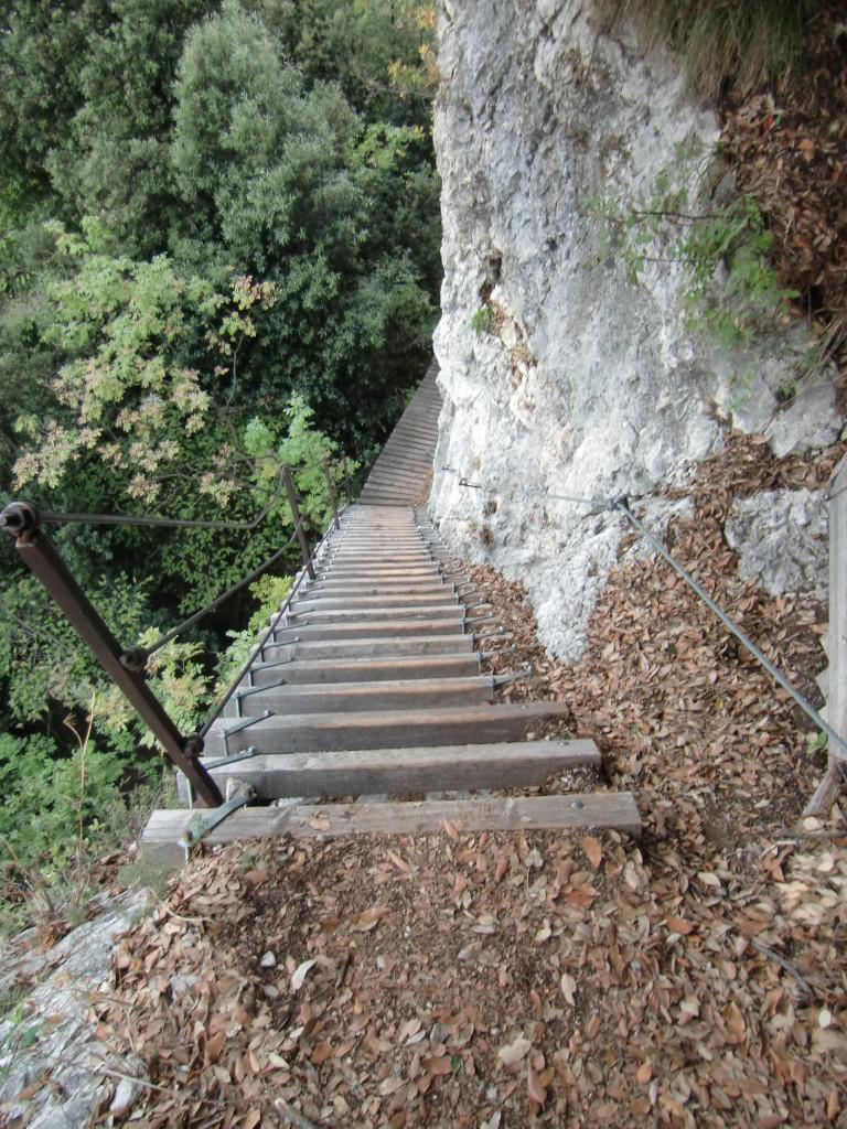 Abstieg über den Sentiero Scaloni