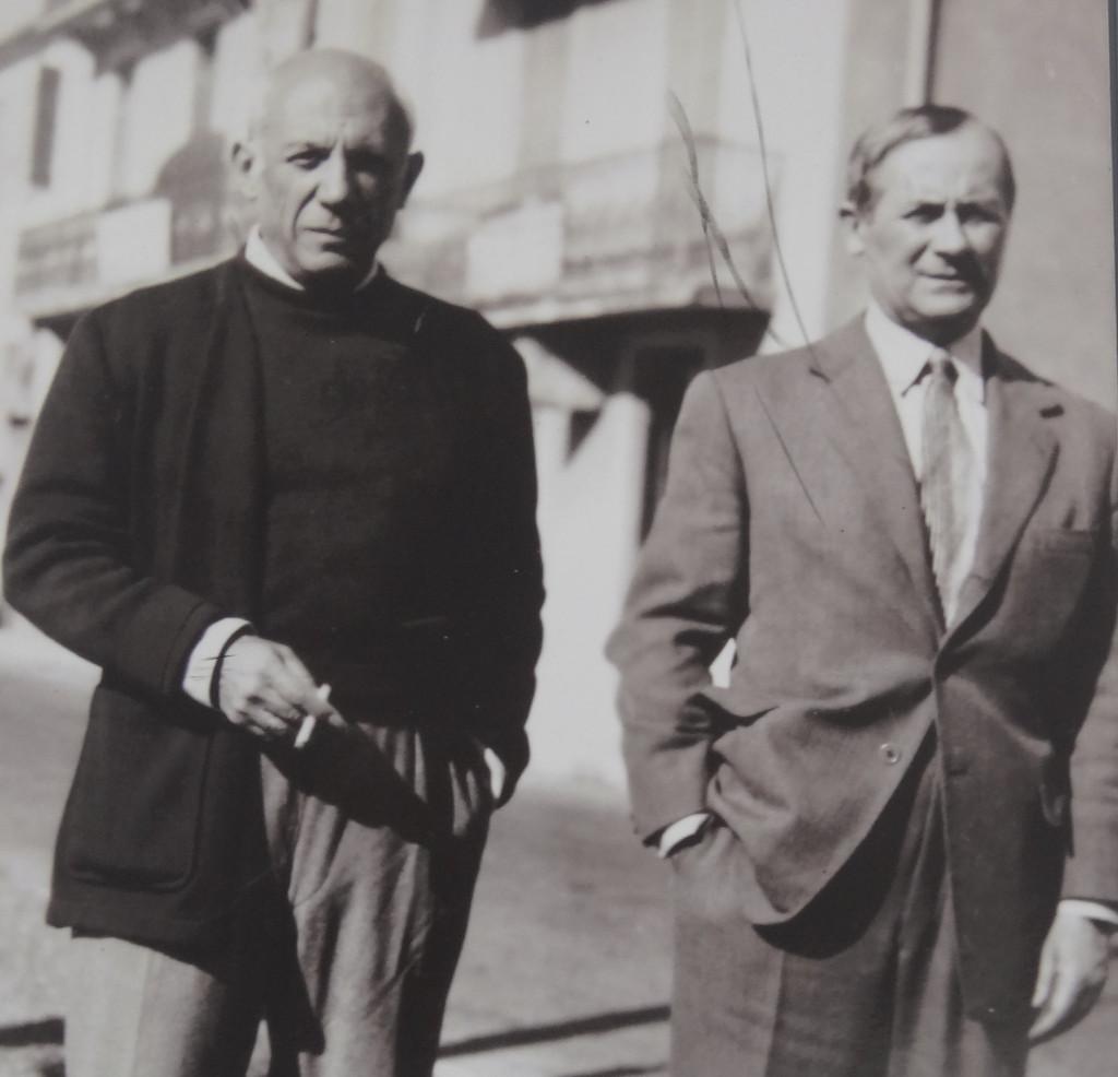 Pablo Picasso und Joan Miro, 1948