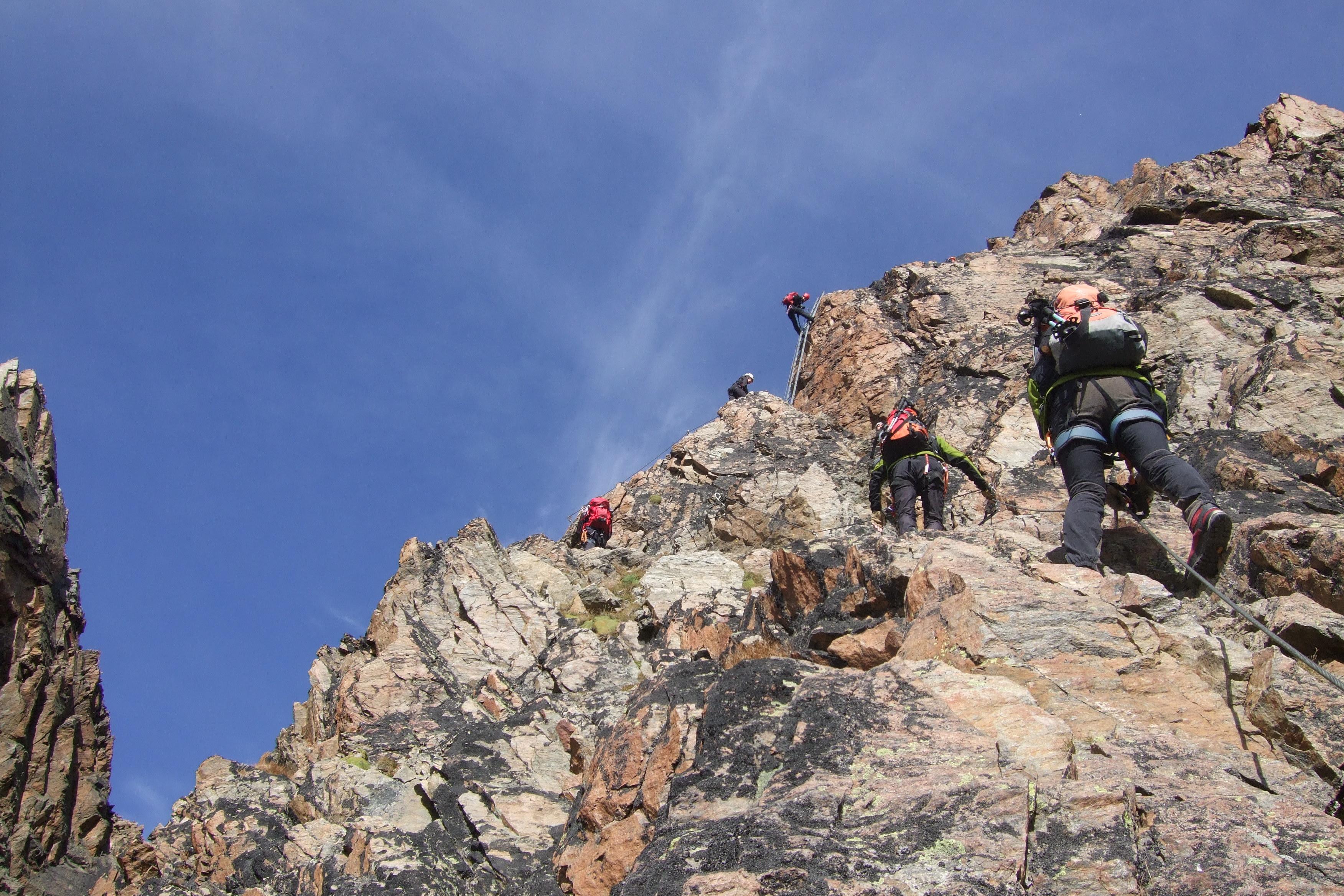 Klettersteig Jägihorn : Panoramaklettersteig jägihorn wallis lisa unterwegs