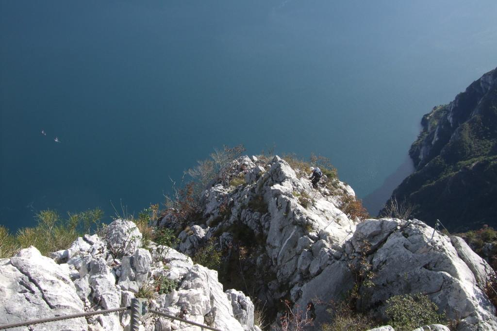 Fröhliche Kraxelei in prächtiger Kulisse: der Sentiero Susatti