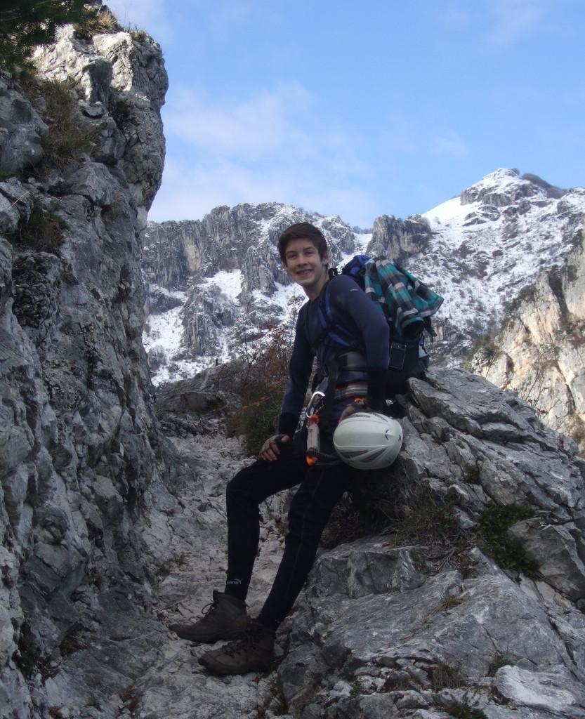 Beim Rückweg, auf dem Sentiero Foletti