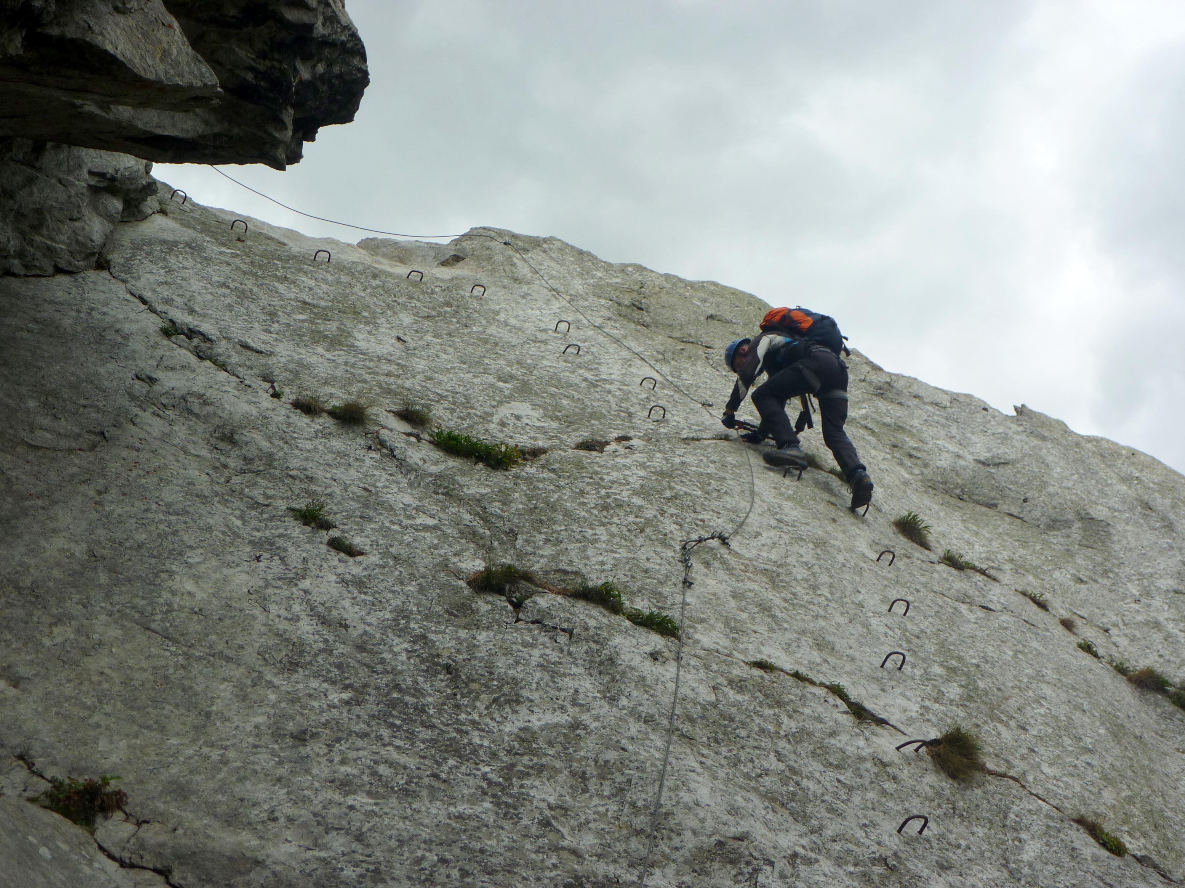 Klettersteig Wallis : Baltschieder ks wallis lisa unterwegs