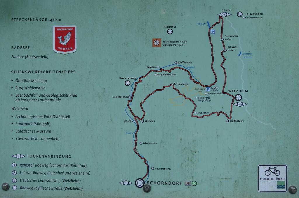 Wieslauf Radweg