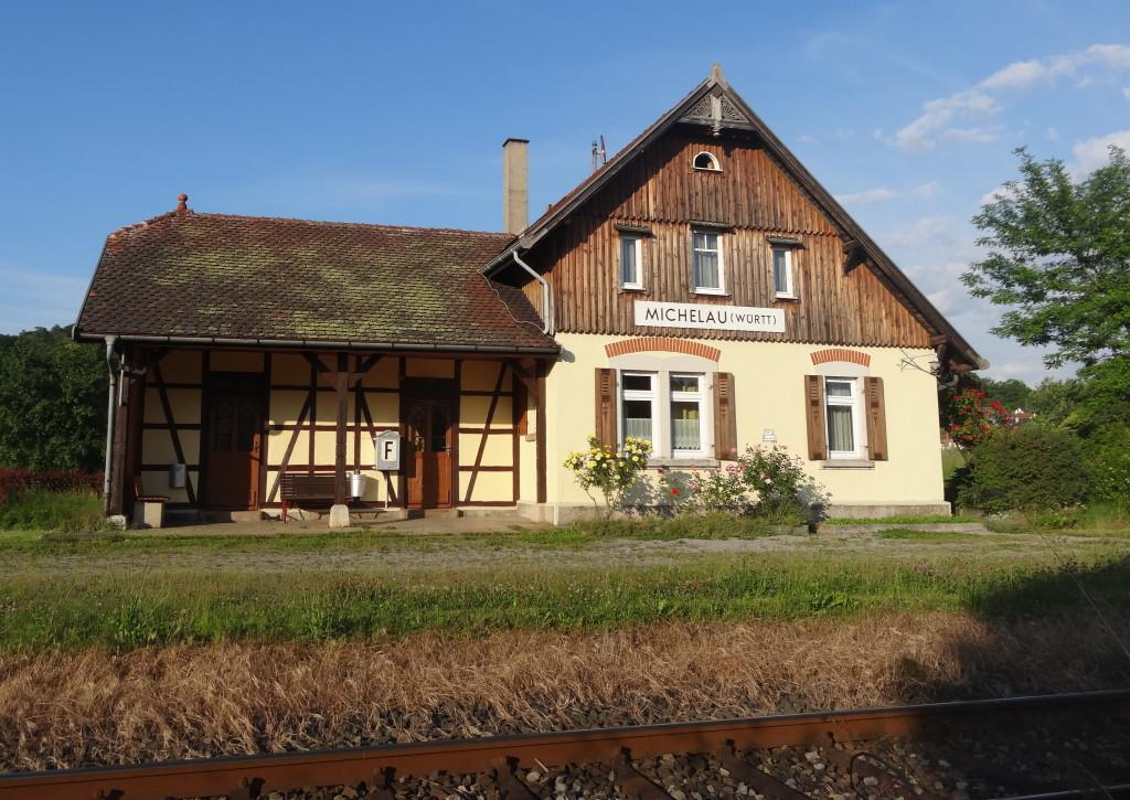 Bahnhof Michelau, Waldbahn