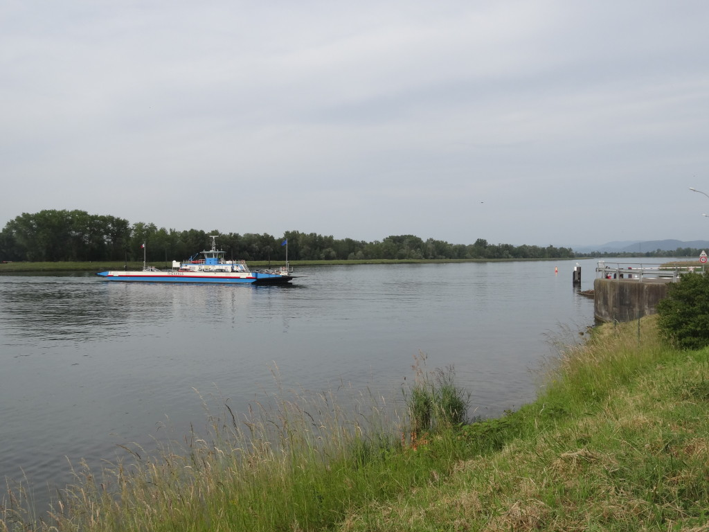 Rheinfähre Rheinau