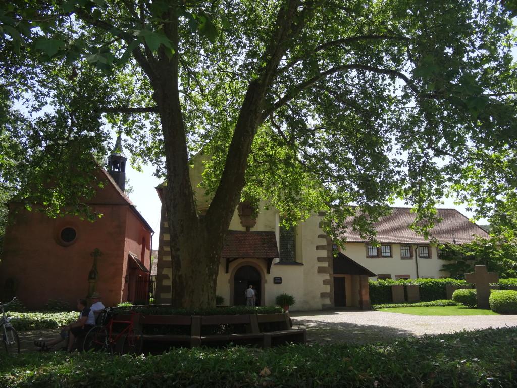 Klosterkirche und Kapelle in Haslach