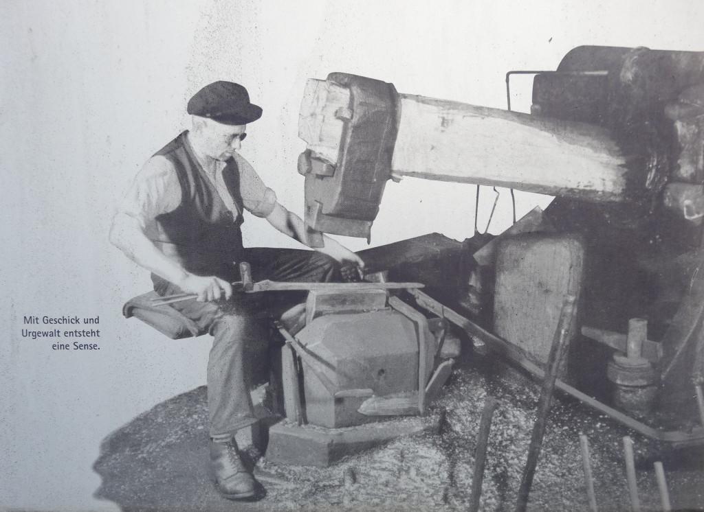 Der Breithammer konnte zwischen 70 und 150 Schläge pro Minute machen