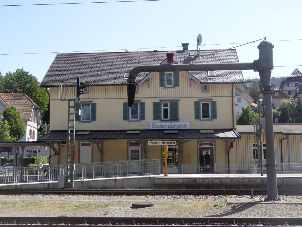 Bahnhof Baiersbronn