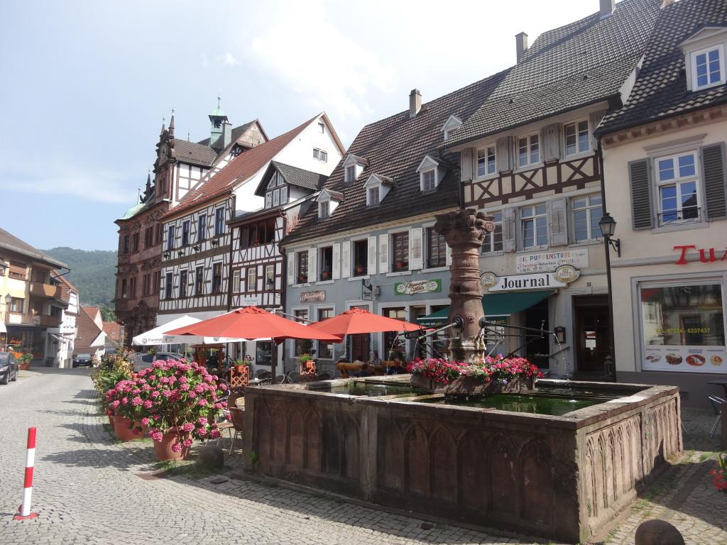 Marktplatz von Gernsbach