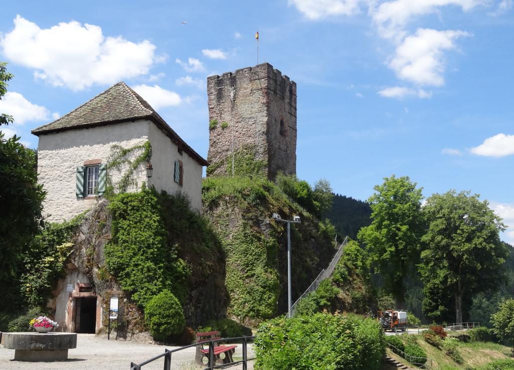 Turm und Pulverturm Hornberg (Gutach)