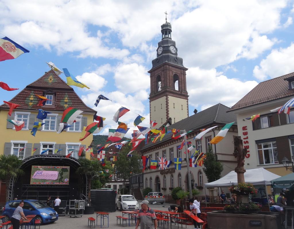 Fußball-WM in Haslach