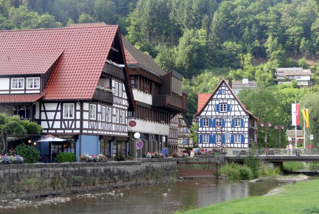 Schiltach, Café Bachbeck