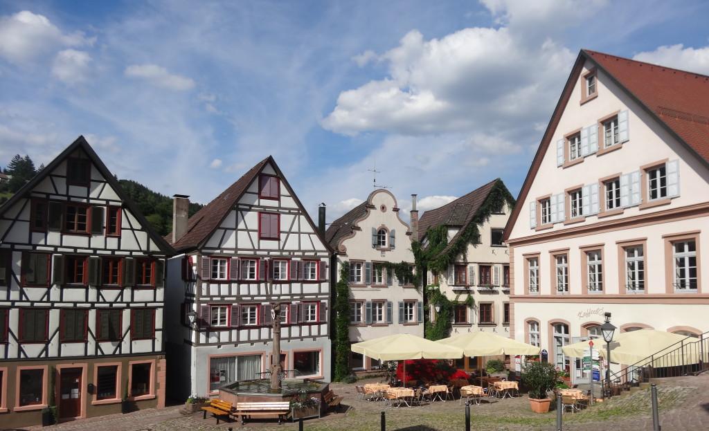 Schiltach, Marktplatz, Café Kaffeebohne