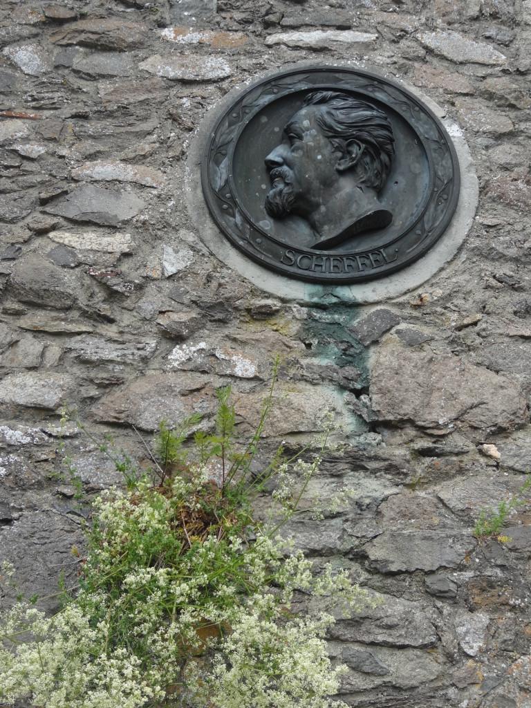 """Victor von Scheffel machte den Hohentwiel berühmt durch seinen Roman """"Ekkehard"""""""