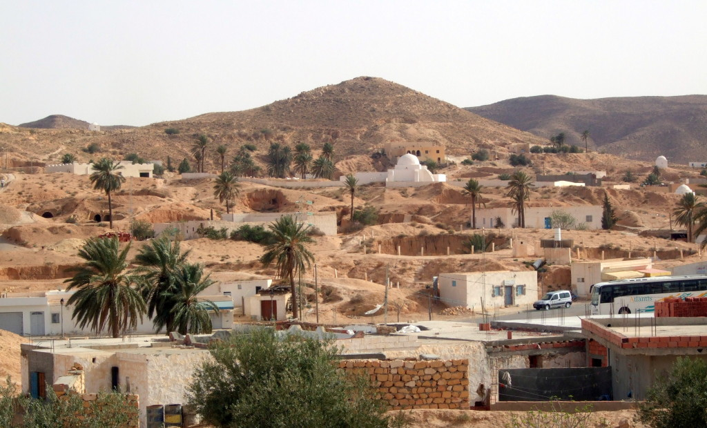 Matmata, das Höhlendorf der Berber