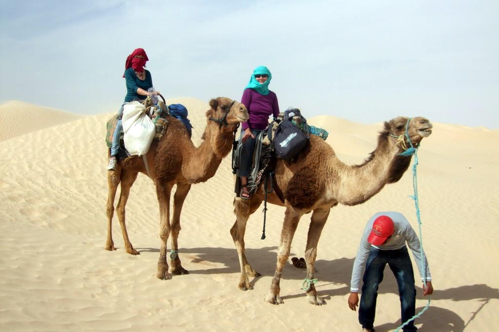 ... durch die Wüste ...