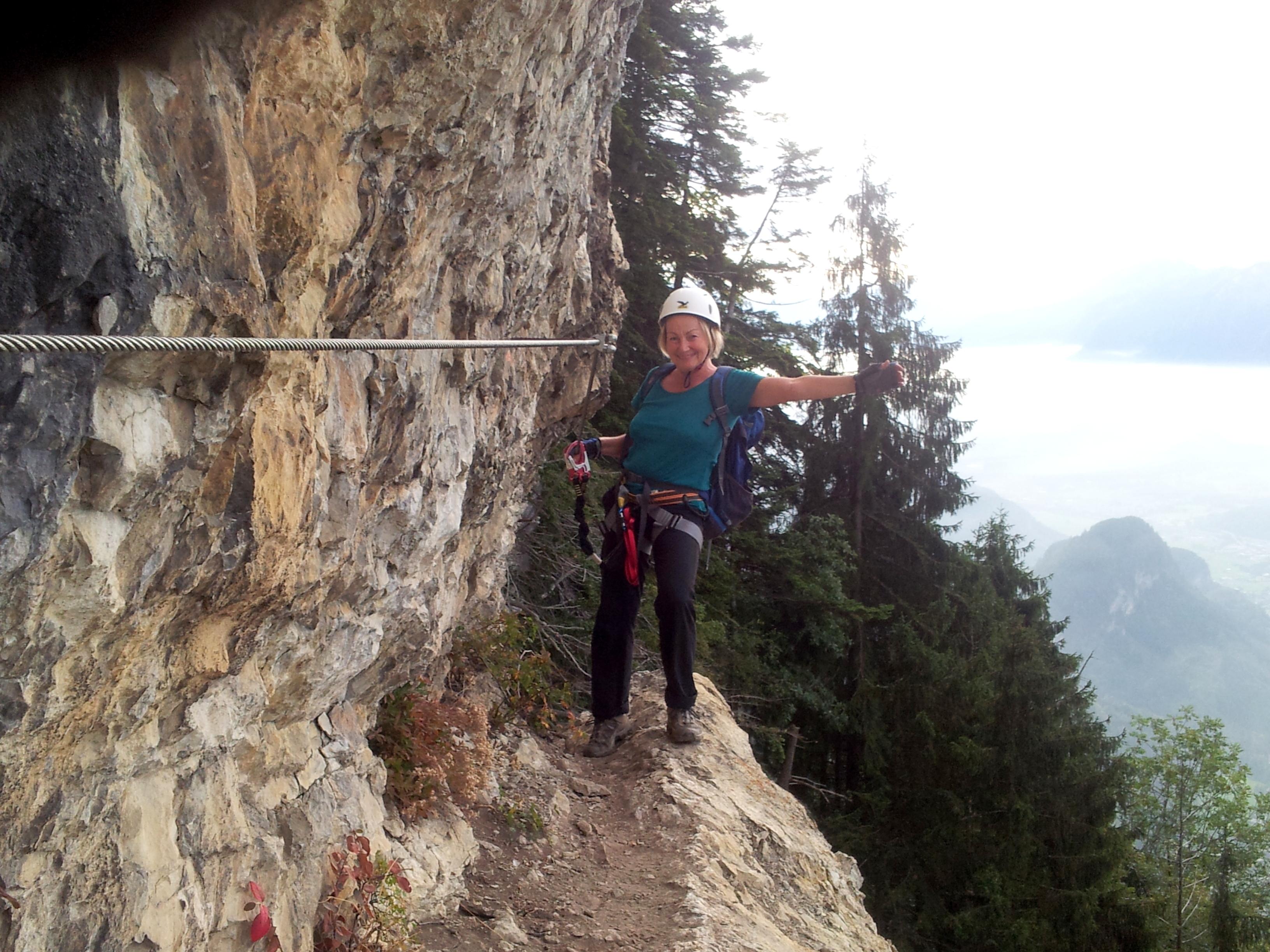 Klettersteig Via Kapf : Klettersteige via kessi kapf und Örfla