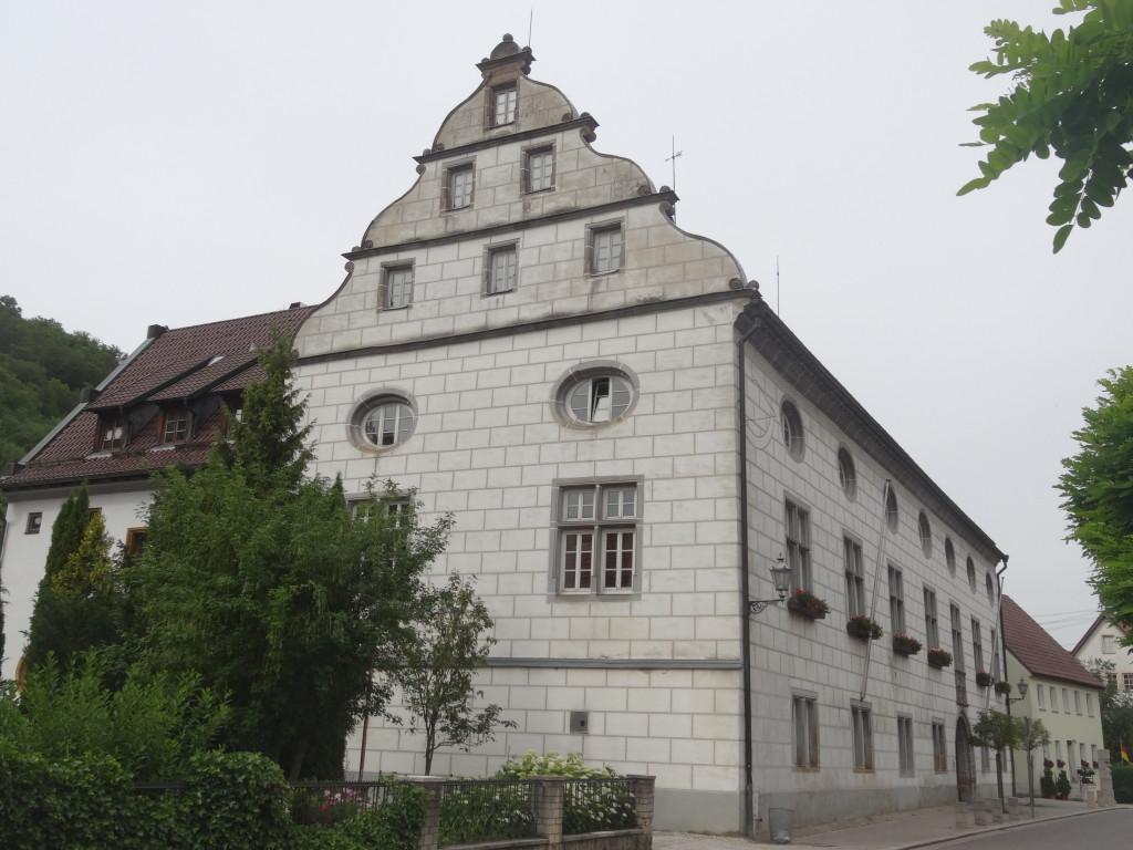 Sogar ein Schloss gibt es in Wiesensteig