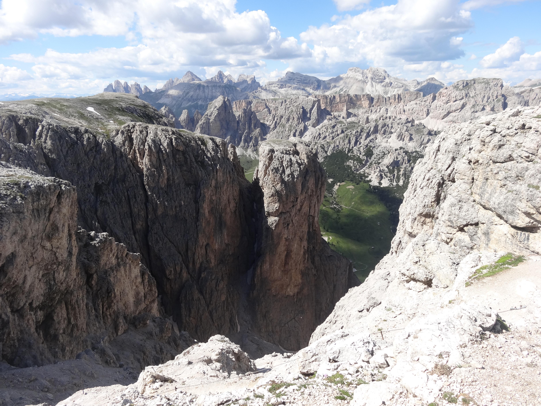 Klettersteig Pisciadu : Pisciadù klettersteig und piz alpenverein südtirol