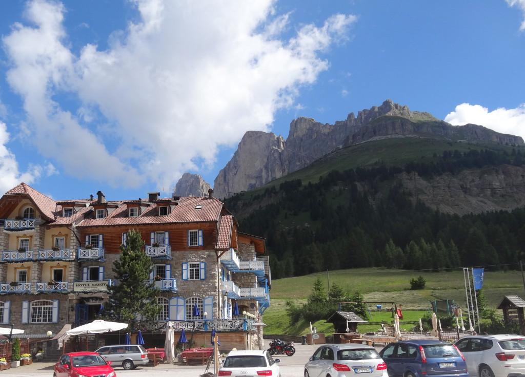 Karer Pass mit Rosengarten