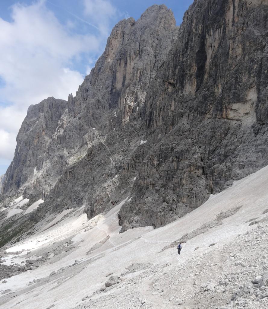 Zum Santnerpass-Klettersteig