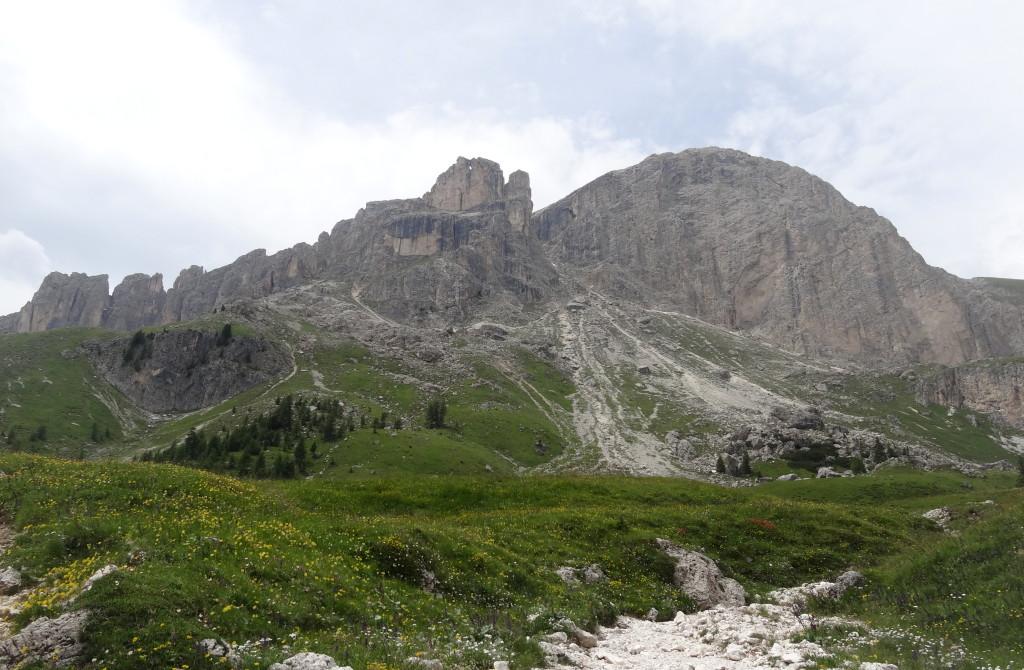 Mazaré-Klettersteig und Rotwand