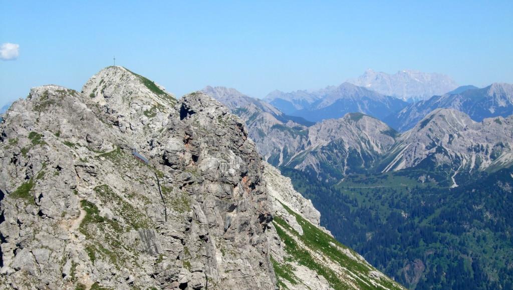 1. Gipfel und Zugspitze