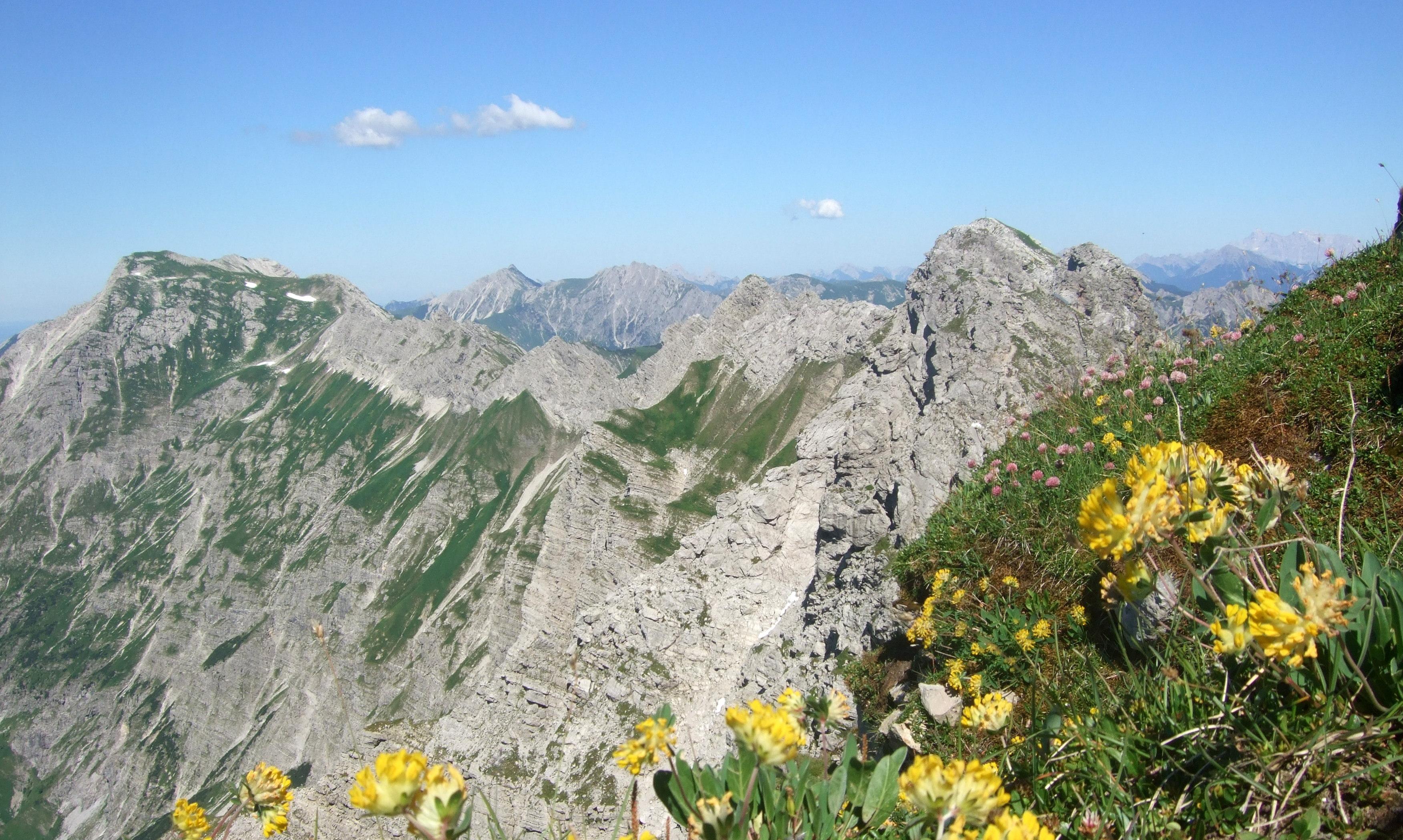 Klettersteig Nebelhorn : Nebelhorn klettersteig und panoramawege durchs hochallgäu