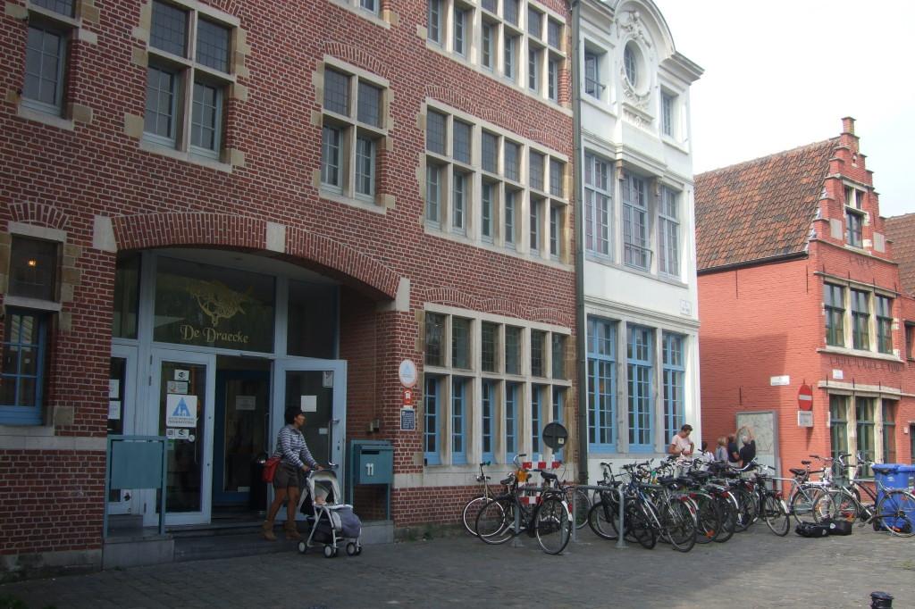 Jugendherberge De Draecke, im Zentrum