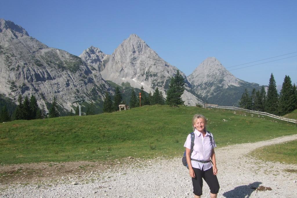 Ehrwalder Alm, Bergstation, Start zum Gatterl (Zugspitze)
