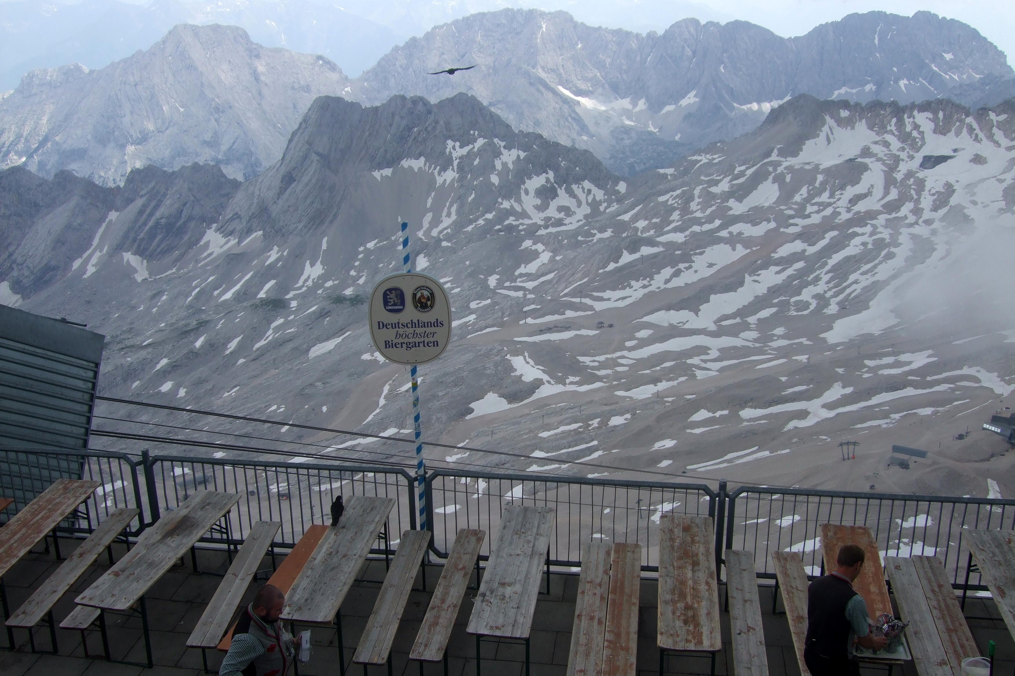 Klettersteig Ehrwald : Zugspitze aufstieg von ehrwald über die knorr hütte lisa