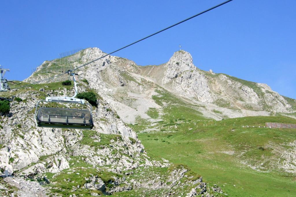 In 3 Sektionen zum Grubigenstein (Skigebiet)