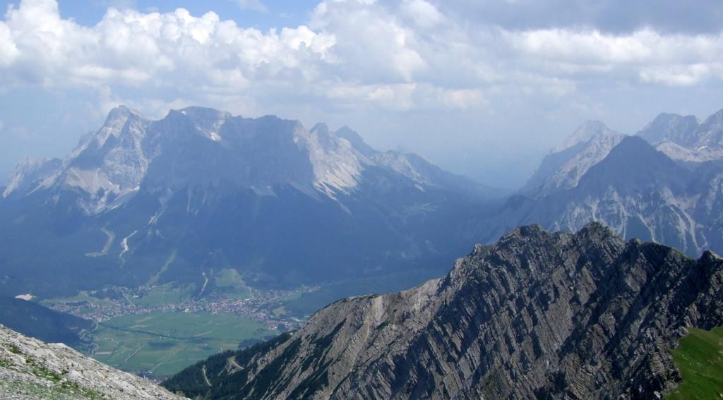 Wetterstein (Zugspitze) und Miemiminger Berge
